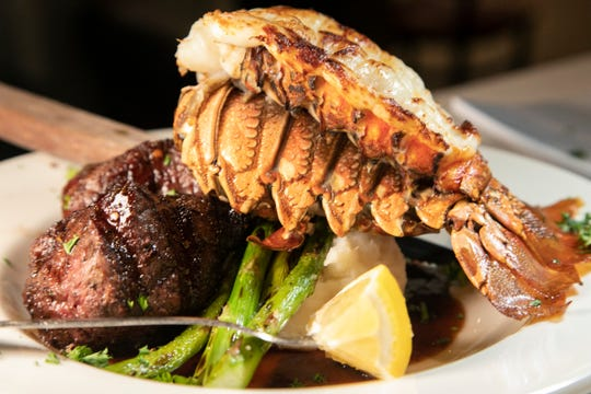 Surf and turf, for better and worse, abounds on Valentine's Day