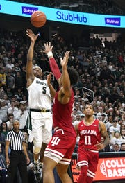 Michigan State would be the No. 8 overall seed and the No. 2 seed in the West Region behind No. 1 Gonzaga, according to the NCAA Men's Basketball Committee.