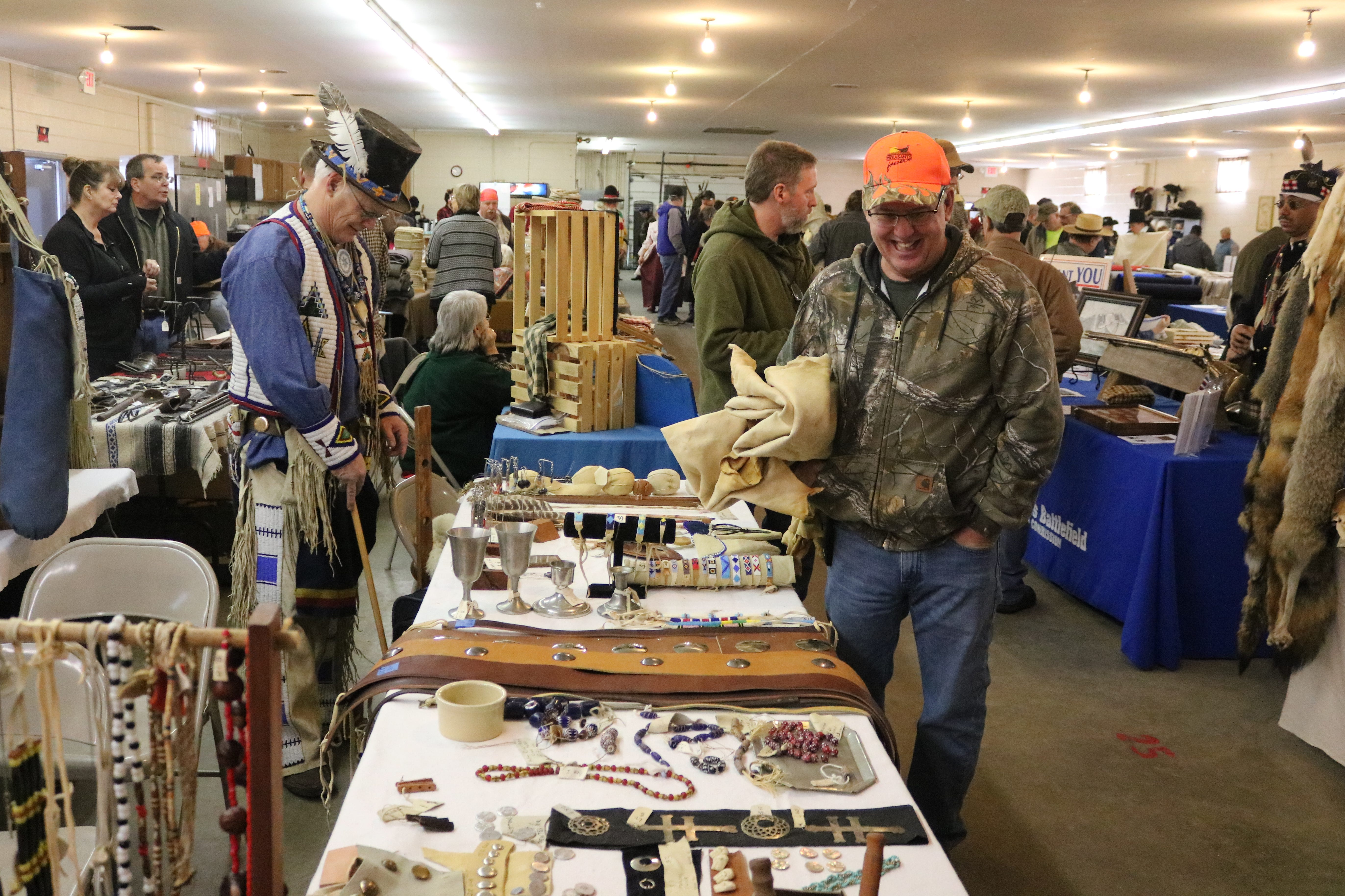 Historical reenactment enthusiasts and artisans gathered in Fremont for the 29th annual Living History Trade Fair at the Sandusky County Fairgrounds this past weekend.