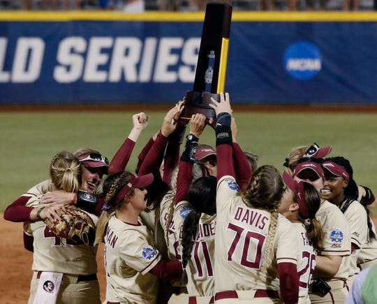 After taking home their first Women's College World Series title in program history, the Florida State softball team looks to defend their title in 2019.