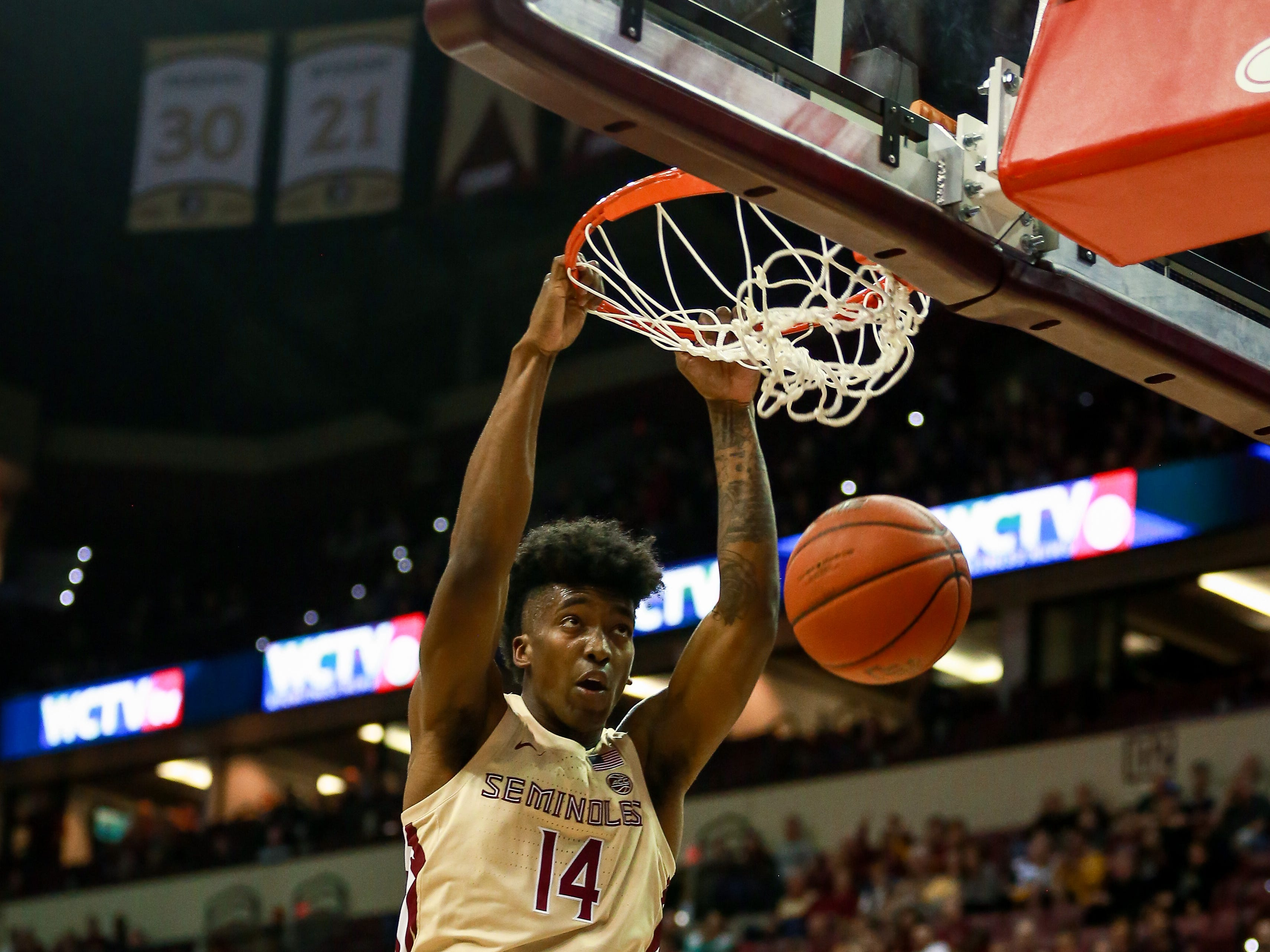 FSU senior guard Terance Mann scored 12 points and grabbed seven rebounds during a victory over Georgia Tech on Saturday at the Tucker Center.
