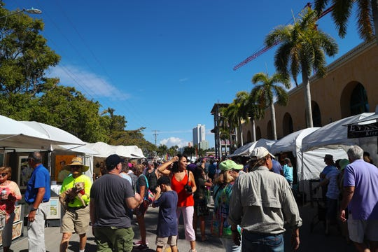 ArtFest Fort Myers returns to downtown Fort Myers this weekend.