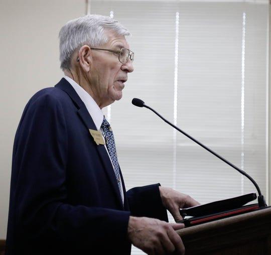 Bob Gilbert is a former, longtime legislator from Sidney, Montana and now works as a lobbyist.