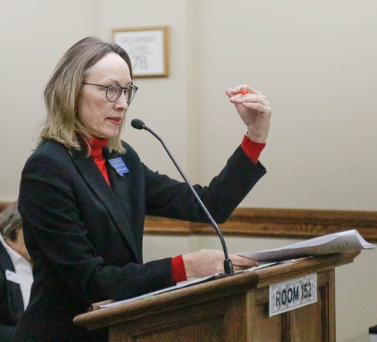 Rep. Mary Ann Dunwell, D-Helena, said in her bill's initial hearing Jan. 30 that it would be strategic to keep Montana-made money in Montana by taxing carbon.