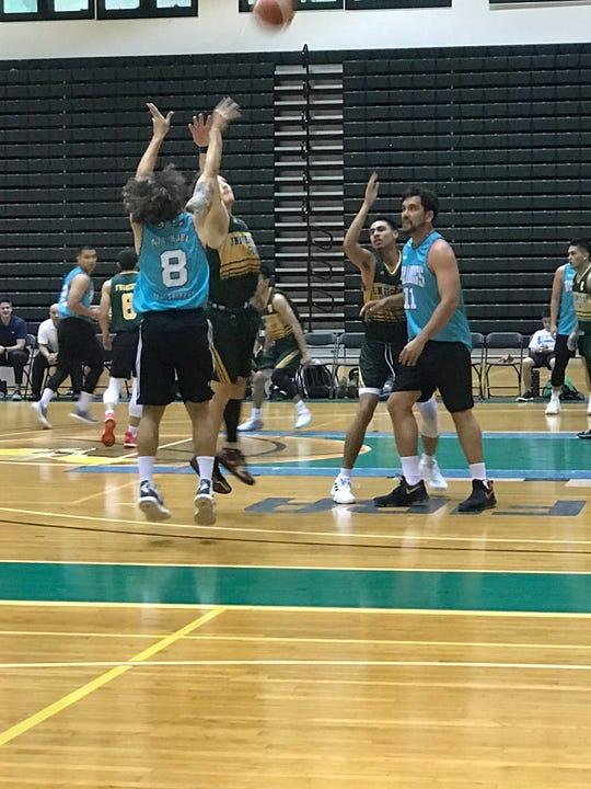 The Bulldogs beat the Tritons 118-91 in the Triton Men's Basketball League.