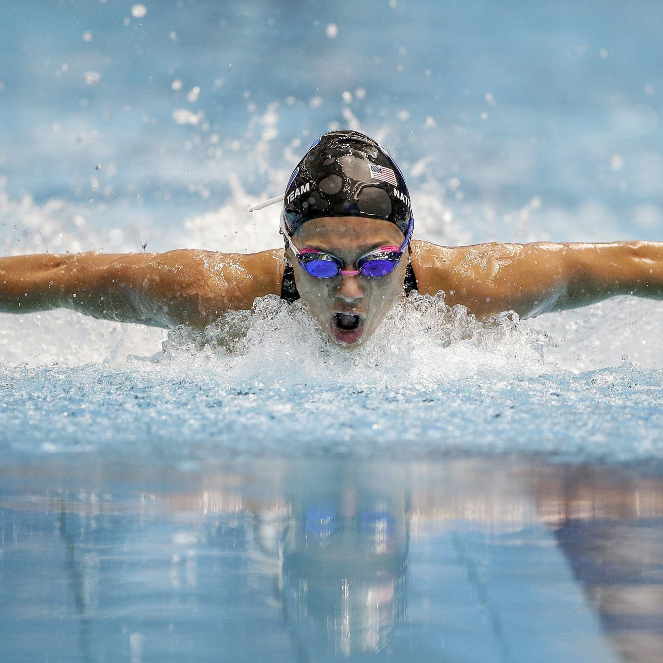 Carmel girls roll through sectional, aiming for 33rd straight state swim title
