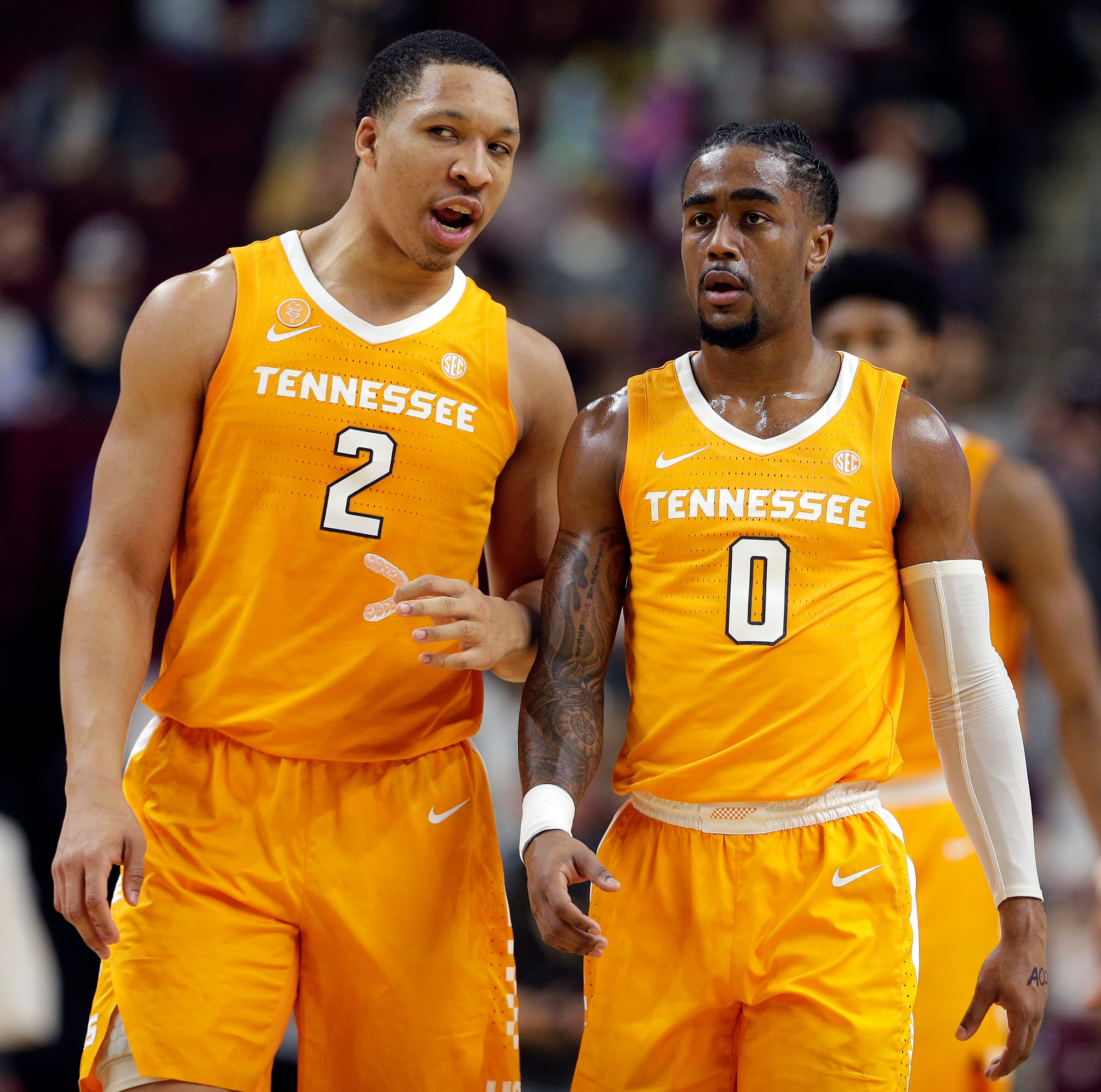 SEC Network reimagines iconic Temptations album cover with UT Vols players, orange suits