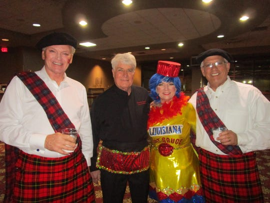 Stan Foster, Tommy Curtis, Reneé Fusilier and Dan Bloomer