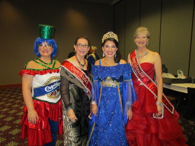 Diana Rae High, Lynn Crochet, Lisa Harrell and Reneé Borne