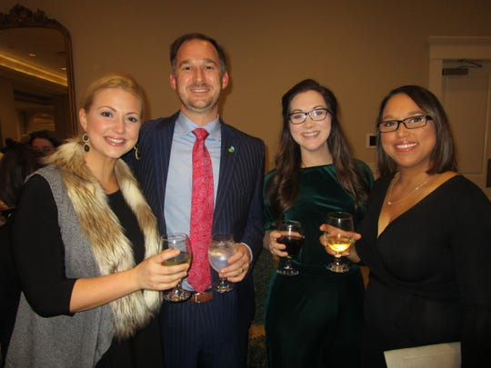 Megan and Leonard Rainey, Caitlin Istre and Theristen Chretien