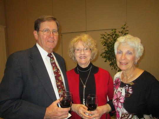 Lewis and Charlene Bernard and Judy Corne