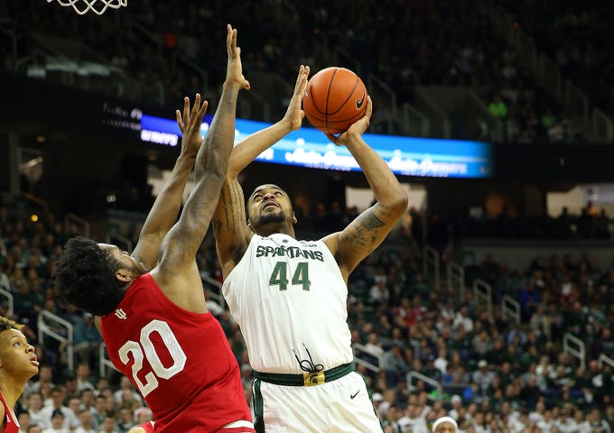Michigan State vs. Indiana men's basketball game video highlights