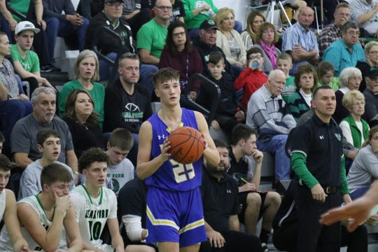 Ontario's Griffin Shaver was instrumental in the Warriors' win over Clear Fork on Saturday.