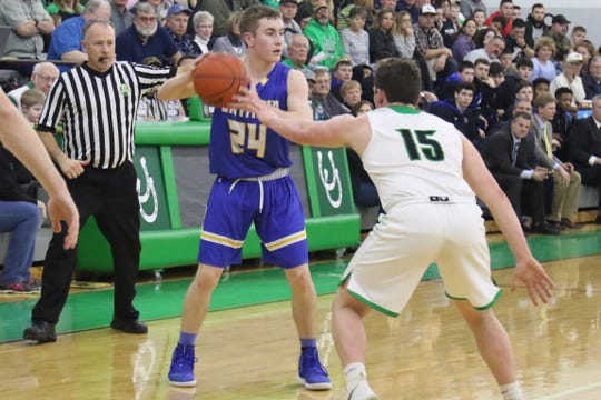 Ontario's Kolten Kurtz always dreamed of playing for Joe Balogh since he was little. He is playing out his dream averaging nearly 11 points a game and shooting nearly 40 percent from the 3-point line.