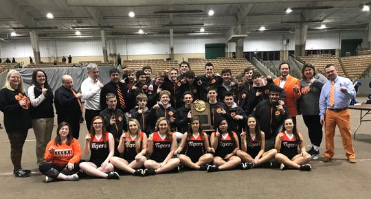Pigeon Forge won the TSSAA Class A/AA state duals, beating Nolensville 59-18 in the championship