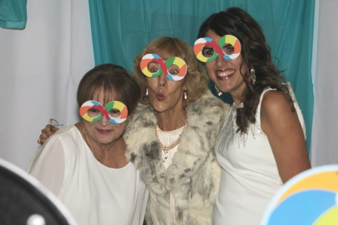 A photo booth provided the opportunity for some extra giggles and fun.