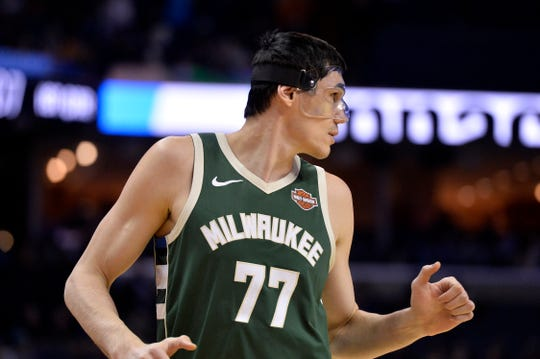 Bucks forward Ersan Ilyasova is still seeing the court despite not having scored in the past six game, and at the same time struggling on defense.