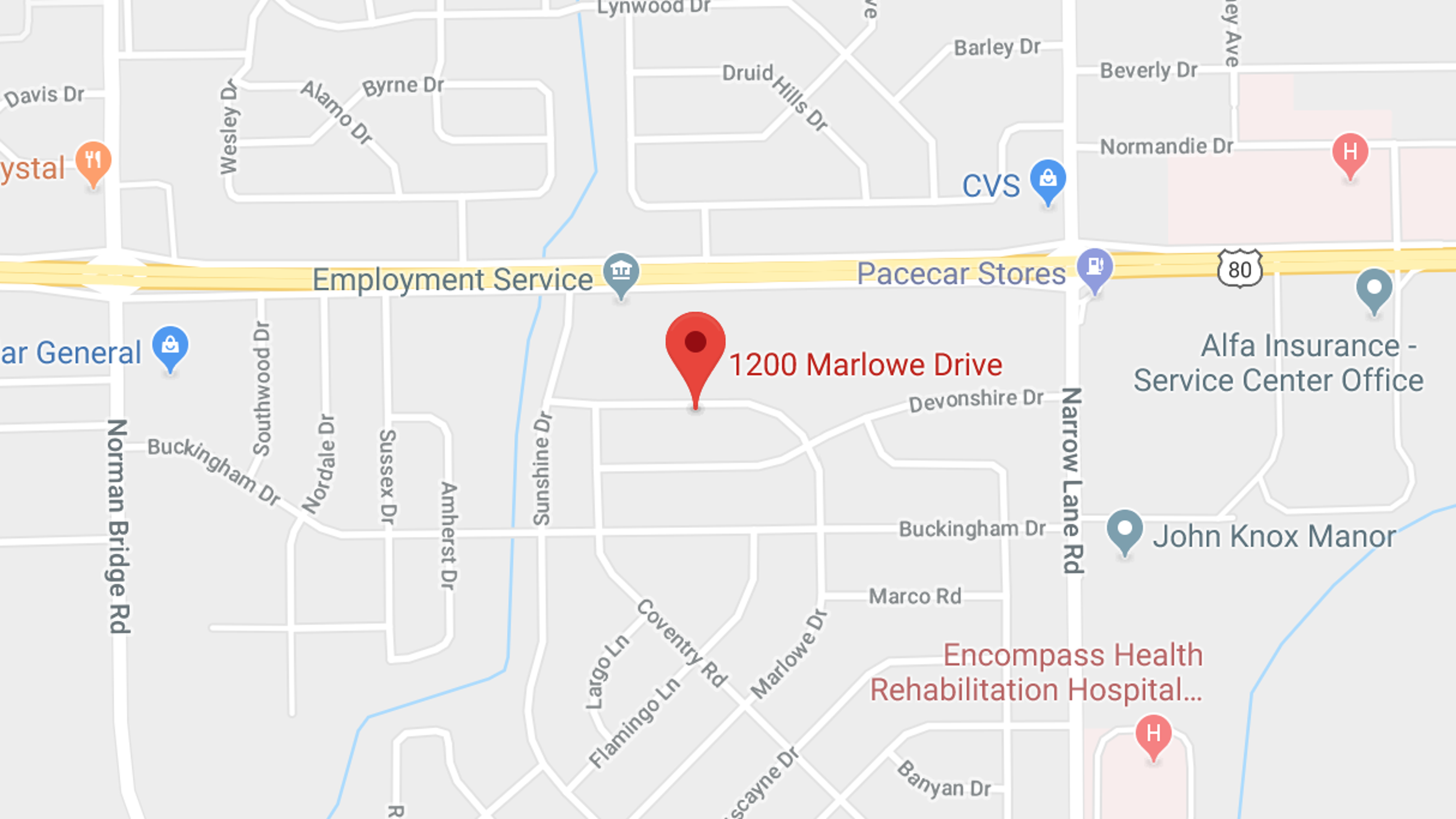 Montgomery woman killed, another injured in Marlowe Drive shooting