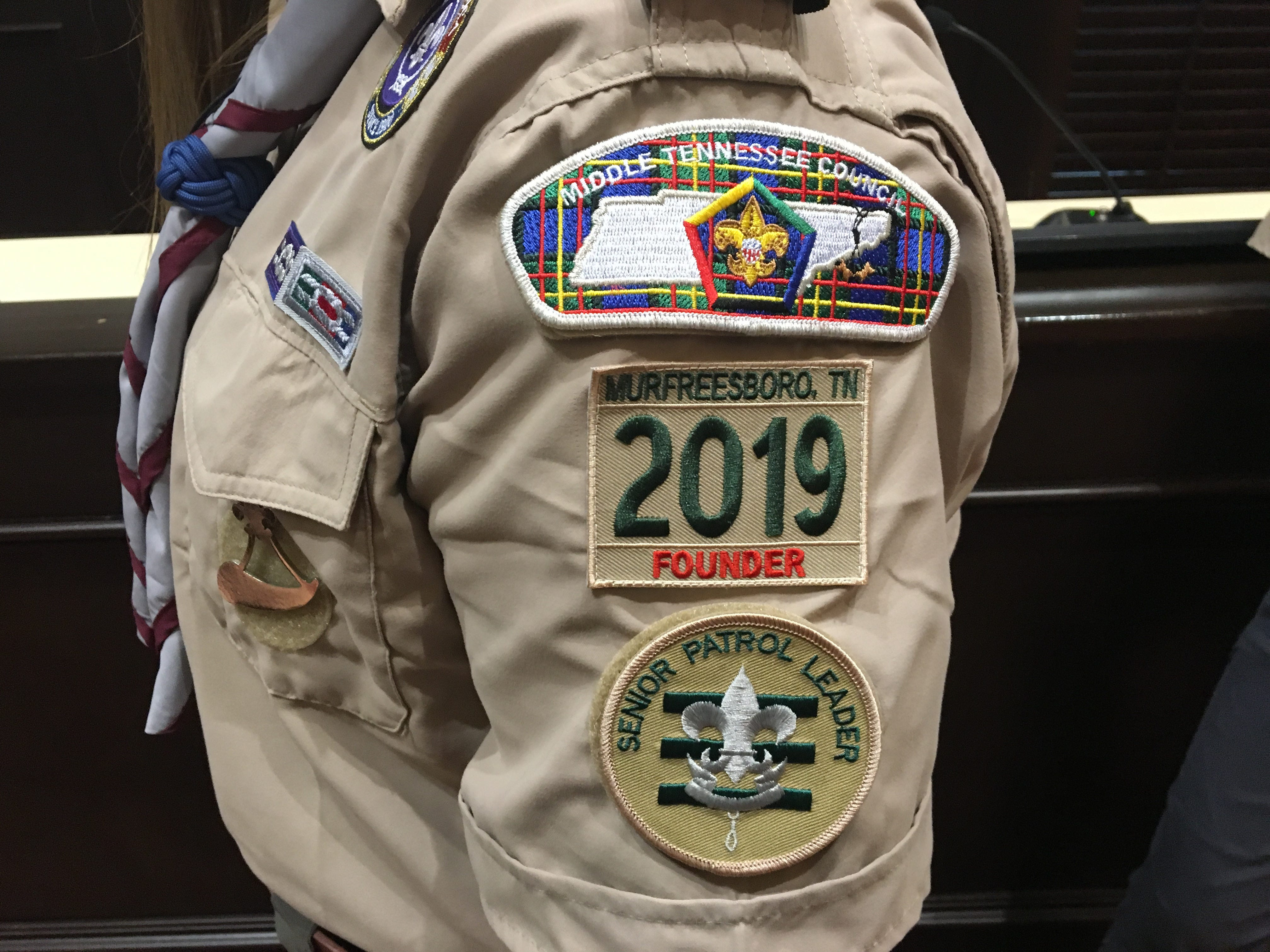 Middle Tennessee Council of Boy Scouts of America welcome the all-girl Troop 2019, and rebranded as Scouts BSA.