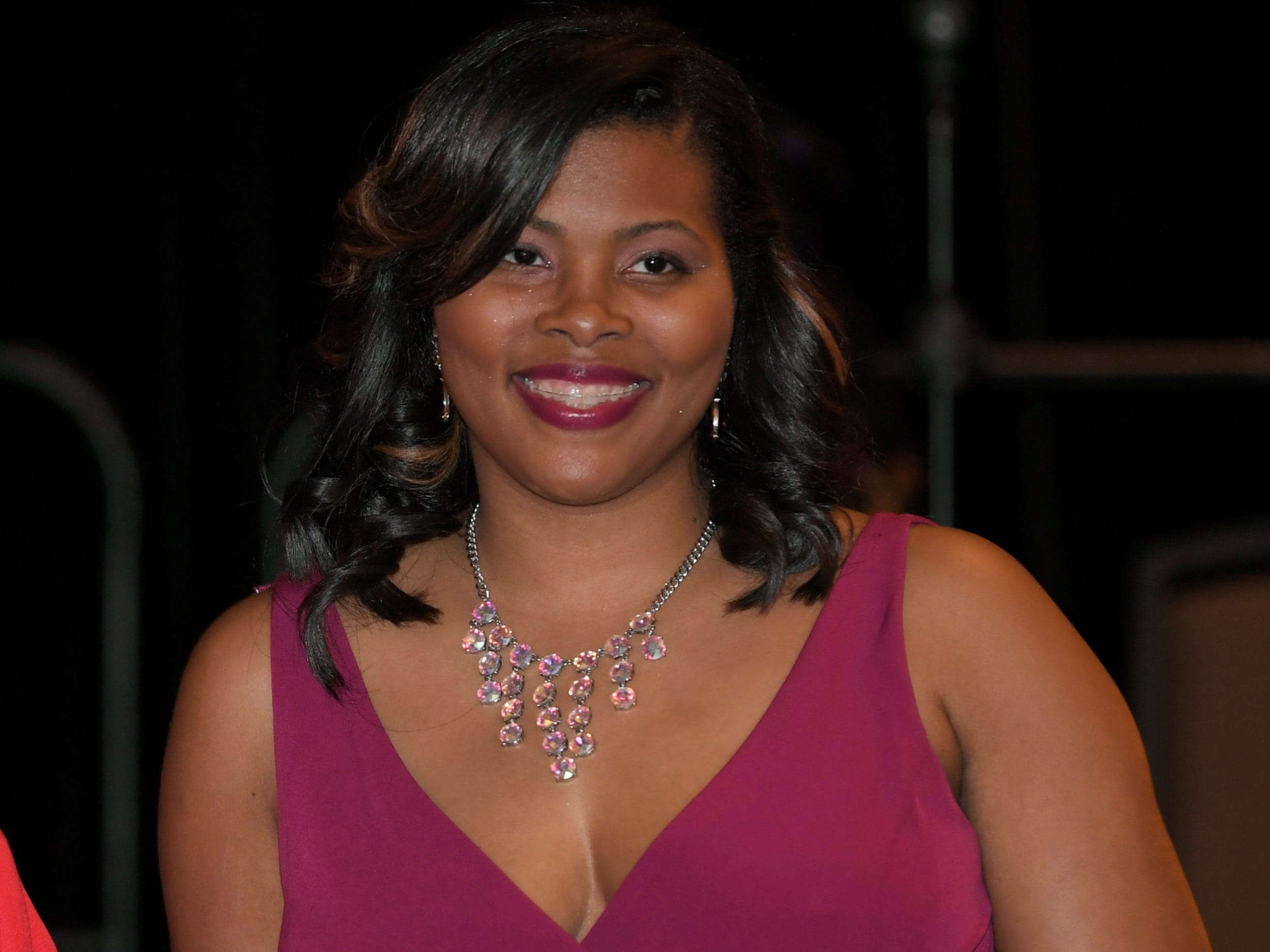 Martesha Johnson was honored at the African American Heritage Society's 18th Annual Black Tie Affair at the Embassy Suites in Franklin on Sat., Feb. 2, 2019.