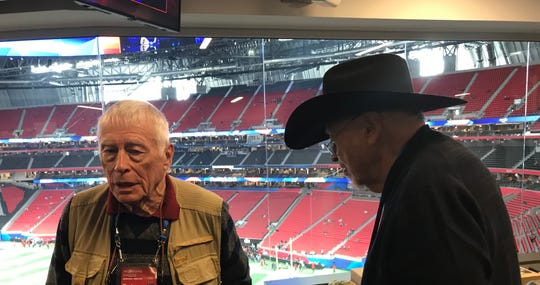 Legendary writers Jerry Green and Jerry Izenberg have covered every Super Bowl in the 53-year history of the game.