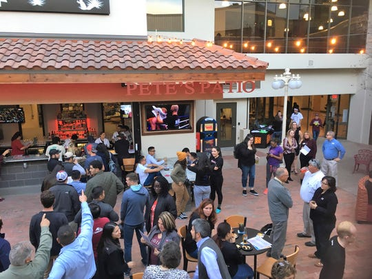 Pete's Patio held its opening celebration on Thursday, Jan. 31, 2019. The bar and future restaurant is located at New Mexico State University's Corbett Center.