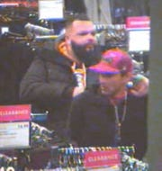 Police are looking to identify these two men in connection with a retail theft at the Boscov's in Springettsbury Township.