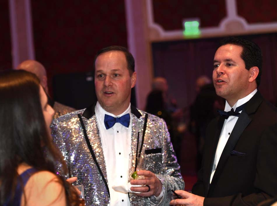 Images from the 10th Annual Blue Tie Ball at the Peppermill Resort Spa Casino on Friday Feb. 1, 2019.
