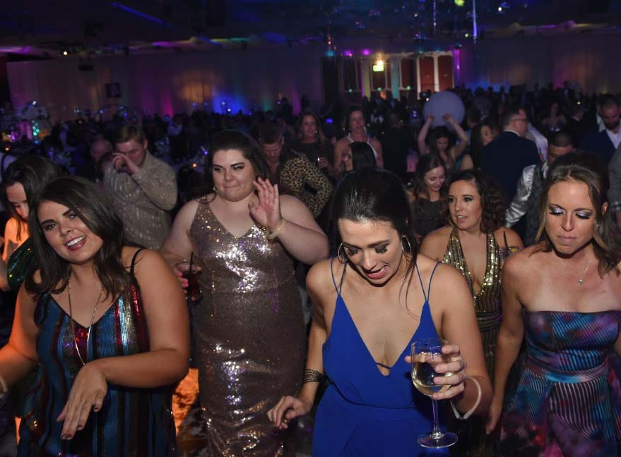 Images from Nevada's 10th Annual Blue Tie Ball at the Peppermill Resort Spa Casino on Friday Feb. 1, 2019.