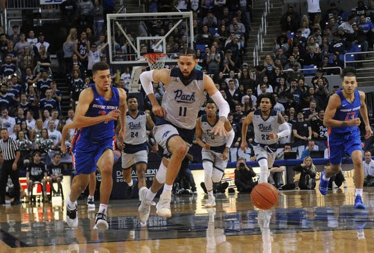 Nevada was rated as a No. 4 seed last week by the NCAA selection committee. In four weeks, the Wolf Pack will find out its final NCAA Tournament fate.