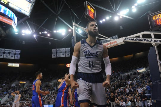 Cody Martin and Nevada will take on Florida in the first round of the NCAA Tournament on Thursday.