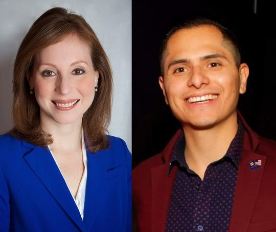 Rachel Barnhart and Victor Sanchez are seeking the Democratic Party nod in the race for the Monroe County Legislature's 21st District seat.