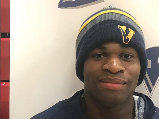 Joseph Theede, 170-pound wrestler and football player at Victor