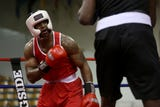 Amateur boxers from across Oregon and Washington competed in the Golden Gloves boxing championship at the Salem Armory on Saturday, Feb. 2, 2019.