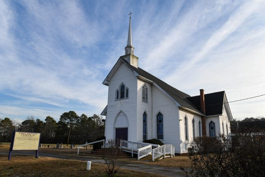Gov. Ralph Northam is a member at the First Baptist Church in Capeville, on the Eastern Shore of Virginia. Pastor the Rev. Kelvin Jones said on Sunday, Feb. 3 that he knows Northam as a good person who still welcome in the church.