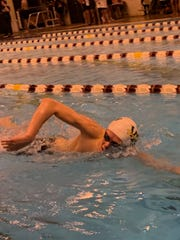 Miles Fitzgerald qualified for state swim in a pair of relays plus the 200 IM Saturday.