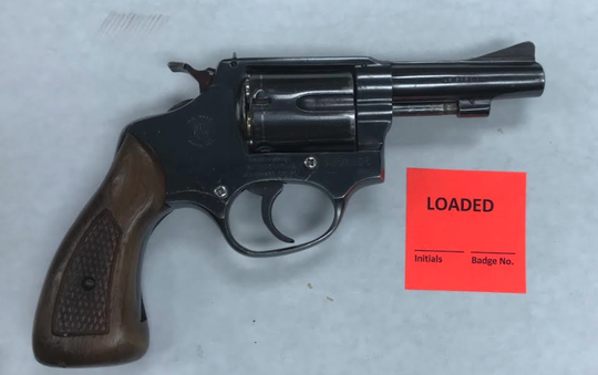 A firearm seized by Oxnard police on Saturday.