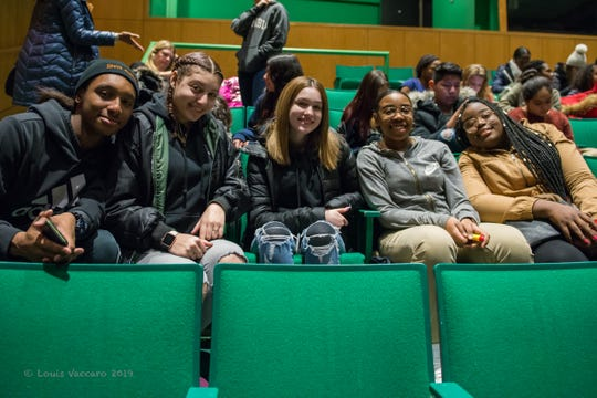 Peekskill High School students attend a day-long, all-expenses-paid trip Purchase College's Performance Arts Center.
