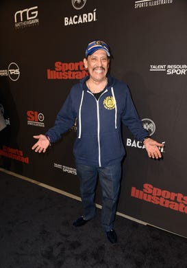 Danny Trejo attends Sports Illustrated Saturday Night Lights powered by Matthew Gavin Enterprises and Talent Resources Sports on Feb. 2.