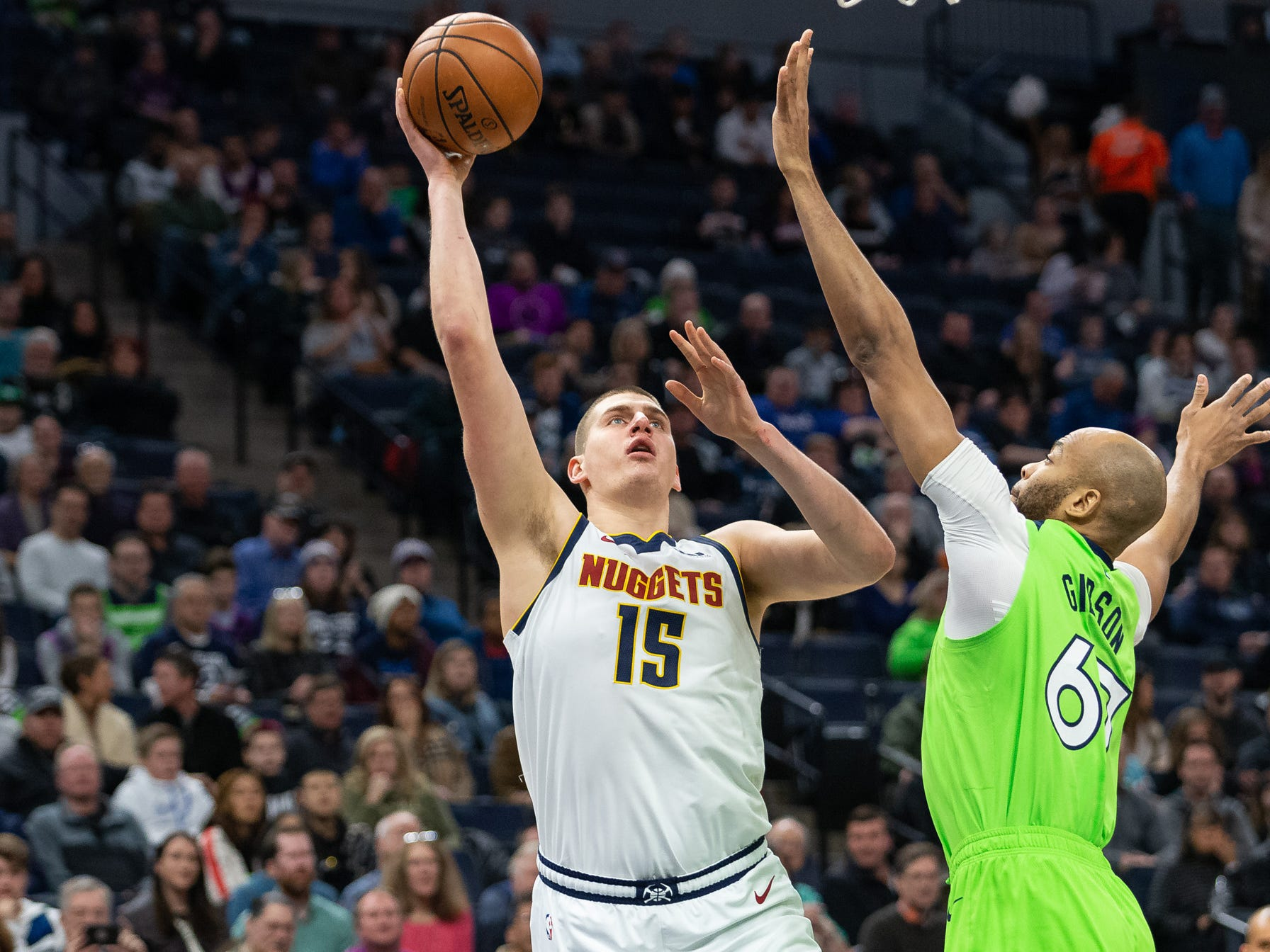 71. Nikola Jokic, Nuggets (Feb. 2): 13 points, 16 rebounds, 10 assists in 107-106 win over T'wolves (ninth of season).