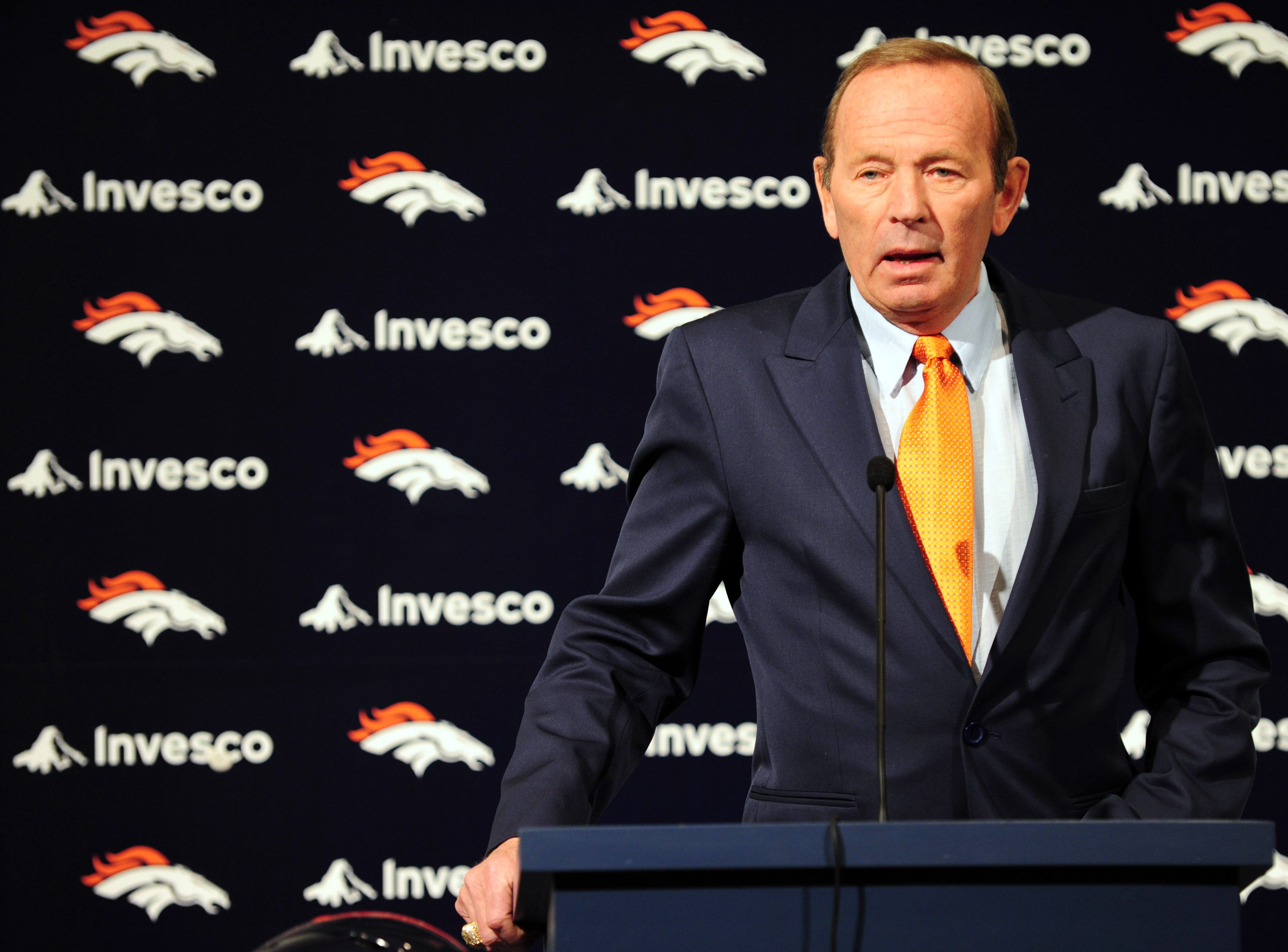 Pat Bowlen, the longtime owner of the Denver Broncos, was named to the Hall in the contributor category. The Broncos went to the Super Bowl seven times under him.