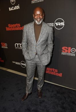 Emmitt Smith attends Sports Illustrated Saturday Night Lights powered by Matthew Gavin Enterprises and Talent Resources Sports on Feb. 2.