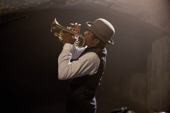 "Gary Carr stars as jazz cornetist Buddy Bolden in ""Bolden,"" which features music written, arranged and performed by Wynton Marsalis."