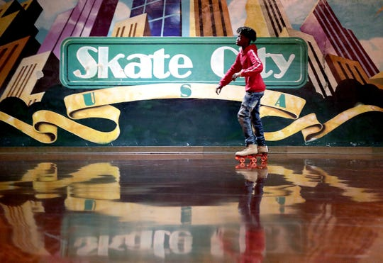 Skate City in Kimberly is one of four roller rinks keeping busy on weekends in the Fox Cities.