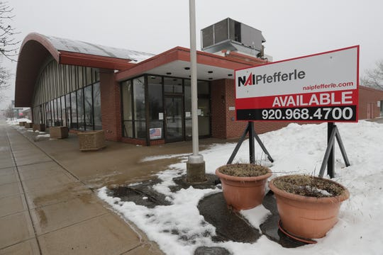 The former Thompson Center at 820 W. College Ave. in downtown Appleton is still for sale.