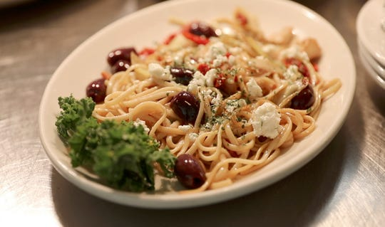 A supper club may not be the place you'd expect to find a Mediterranean pasta, but Wally's Spot is a mix of old-school supper club with a few modern twists.