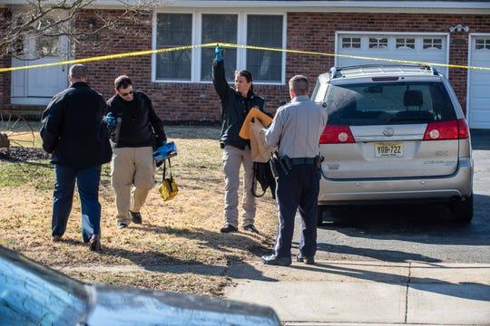 Freehold 2/4/19- Scene of suspicious murder.