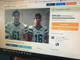 Patrick and Tyler Giesler faced homelessness after their grandmother died, but two Brick Township football coaches and a caring community are helping.