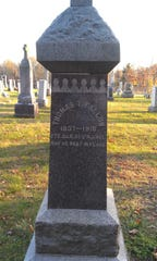 Pvt. Thomas Fallon's grave site in Freehold Borough