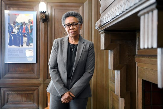 Debra Campbell started as Asheville city manager in December 2018. Before coming to Asheville she was the assistant city manager for Charlotte.